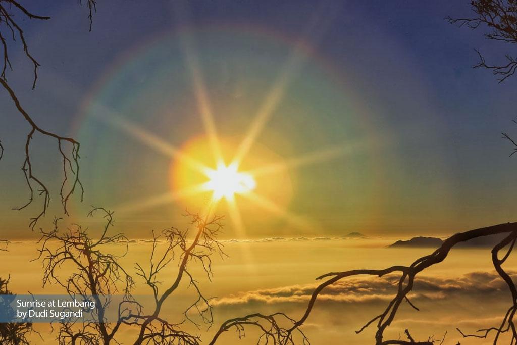 Sunrise at Lembang,