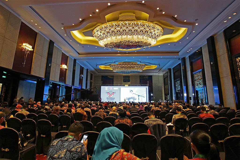 Indonesian City Government PR Summit , Trans Grand Ballroom | October 2018