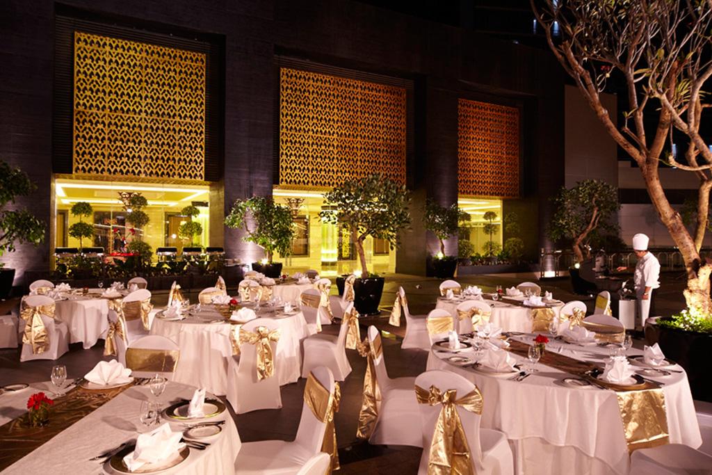 , Dinner at Garden Terrace